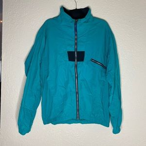 REI zip up jacket windbreaker size L
